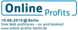 Logo: Online Profits - Vortrag Neue Regeln des Marketing
