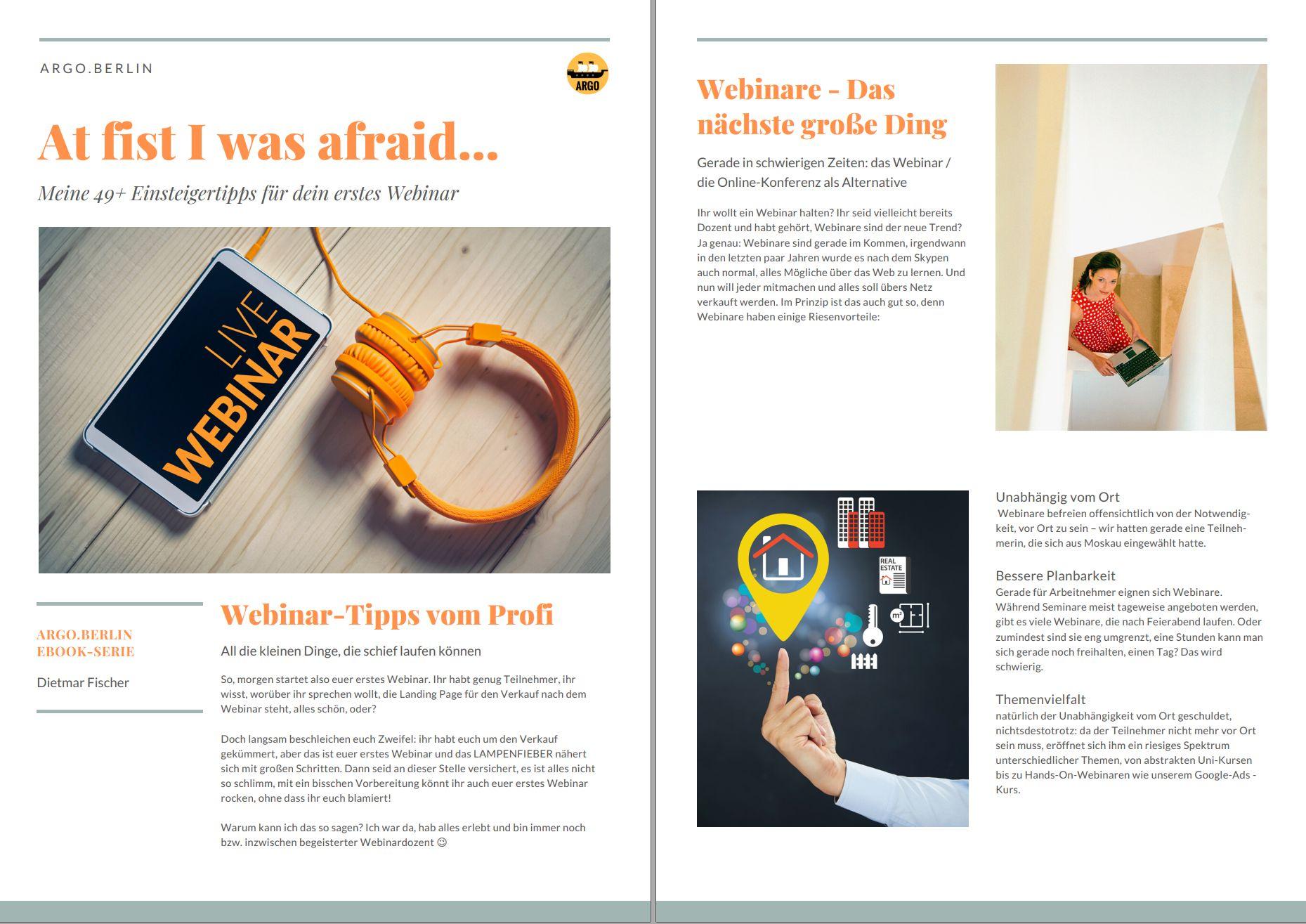Vorschau PDF des eBooks Web-Seminar-Einführung